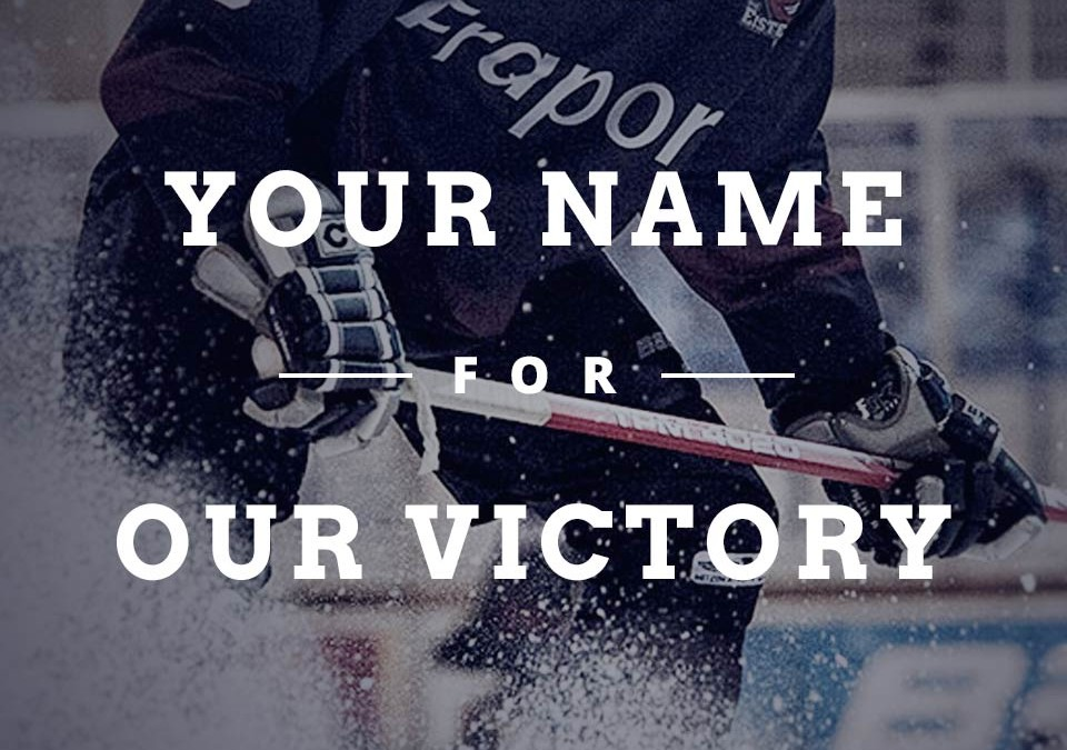 YOUR NAME FOR OUR VICTORY